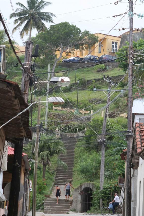 Baracoa y sus calles. Foto: Jorge Legañoa