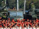 El pueblo de Cuba celebra el 50 Aniversario de la Victoria de Girón. Foto: AIN