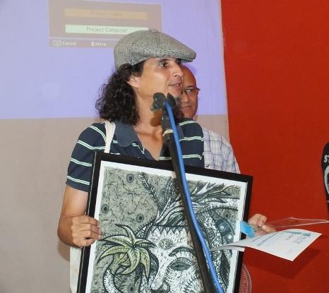 El escritor y periodista Rafael Grillo recibe el Premio Palma Digital en la categoría de Publicaciones Culturales Digitales por el espacio Isliada.