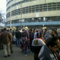 Manifestación en Egipto