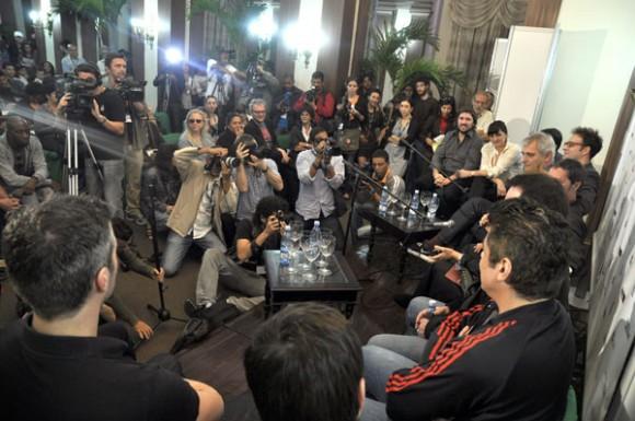 Benicio del Toro en la presentación de