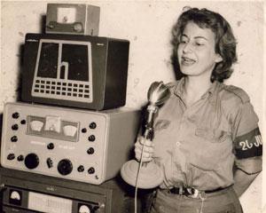 Violeta Casal, voz representativa de la Radio Rebelde en la Sierra Maestra