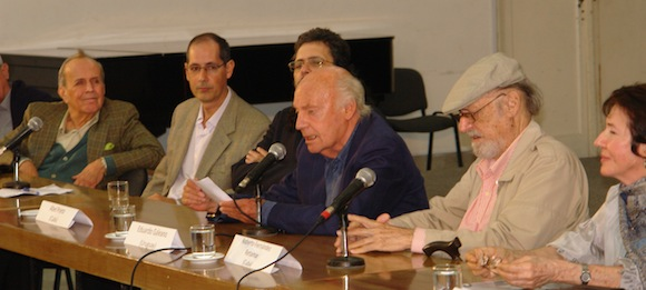 Eduardo Galeano en Casa de las Américas. Foto: David Vázquez  Abella