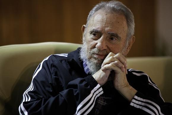 Fidel presentó el libro de memorias