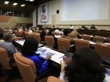 Sesiona en Comisiones de trabajo del VI congreso del PCC, Palacio de Convenciones. foto Ismael Francisco/PL